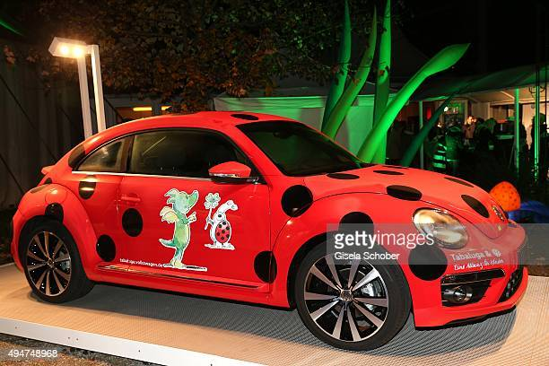 A general view beetle car during the 'Tabaluga Es lebe die Freundschaft' record release at Das Schloss on October 28 2015 in Munich Germany