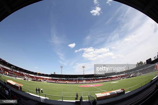 General view before a match between Estudiantes v Chivas as part of Clausura 2012 at 3 de Marzo Stadium on April 01, 2012 in Zapopan, Mexico.