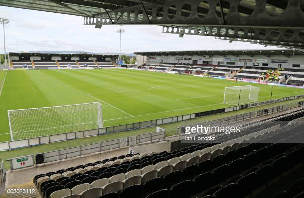 A general view before a preseason friendly between St Mirren FC and Sunderland AFC at St Mirren Park on July 21 2018 in Paisley Scotland