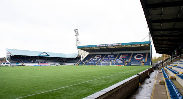 GBR: Raith Rovers v Dunfermline - Scottish Premiership Playoff