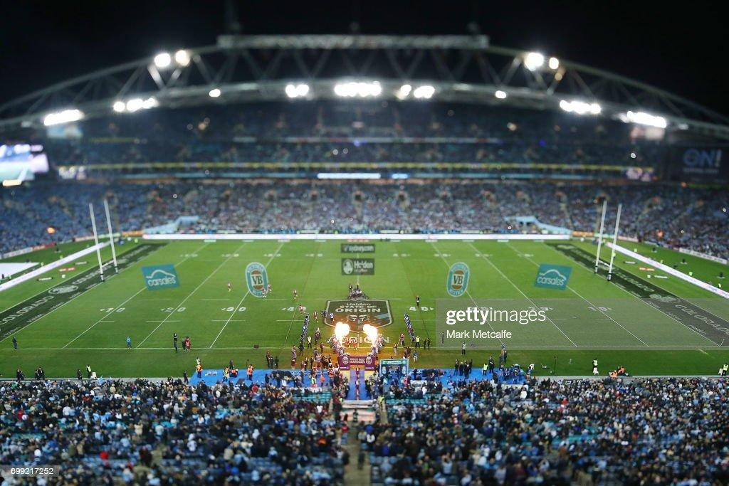State Of Origin II - NSW v QLD : News Photo