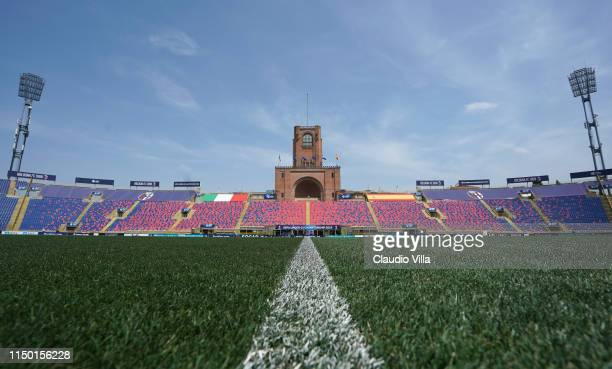General view before Italy U21 Training Session at Stadio Renato Dall'Ara on June 15, 2019 in Bologna, Italy.