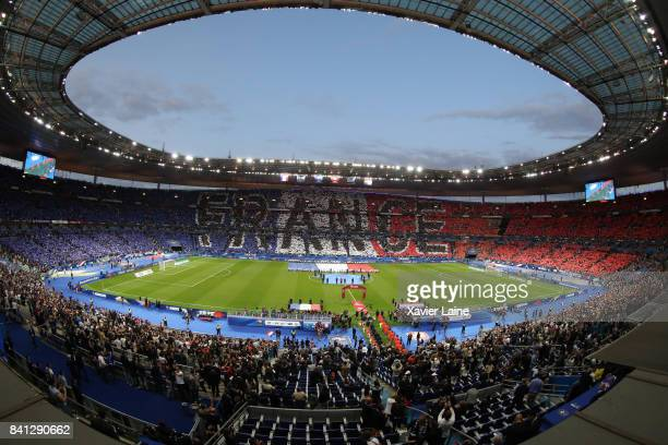 General view before the FIFA 2018 World Cup Qualifier between France and Netherlands at Stade de France on August 31 2017 in Paris