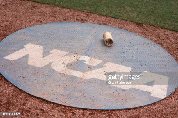 General view before the game between the Wingate Bulldogs and the Central Missouri Mules during the Division II Men's Baseball Championship held at...