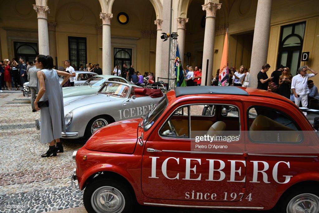 Iceberg - Front Row - Milan Fashion Week Spring/Summer 2019 : ニュース写真
