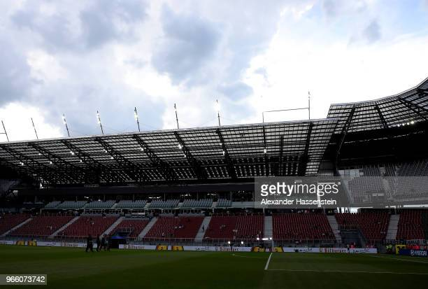 General view before the International Friendly match between Austria and Germany at Woerthersee Stadion on June 2, 2018 in Klagenfurt, Austria.