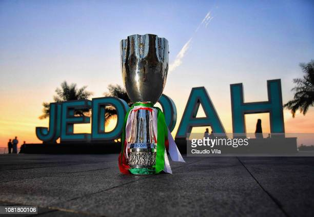 A general view before the Italian Supercup between Juventus FC and AC Milan on January 12 2019 in Jeddah Saudi Arabia