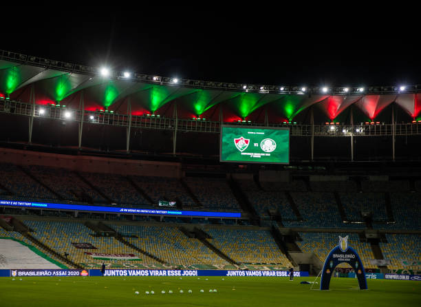 BRA: 2020 Brasileirao Series A:  Fluminense v Palmeiras Play Behind Closed Doors Amidst the Coronavirus (COVID - 19) Pandemic