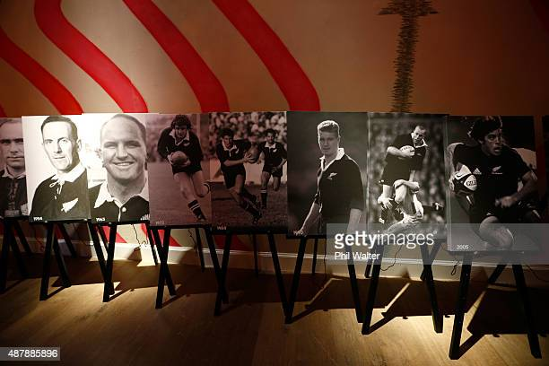 A general view before the premier of the All Black documentry on the history of the All Black jersey at the Ham Yard Hotel on September 12 2015 in...