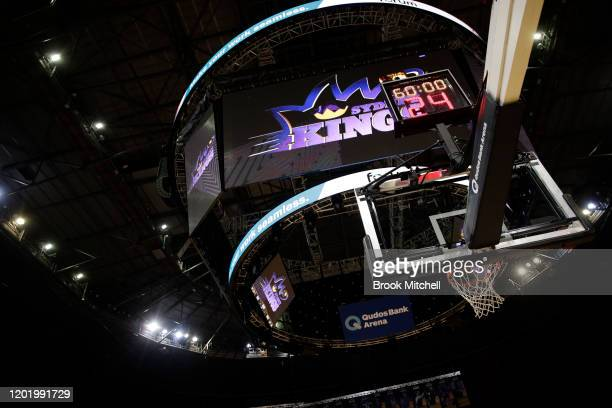 General view before the round 17 NBL match between the Sydney Kings and Melbourne United at Qudos Bank Arena on January 26, 2020 in Sydney, Australia.