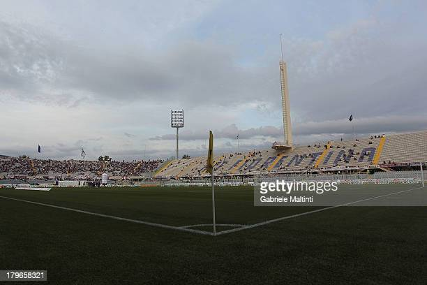 General view before the Serie A match between ACF Fiorentina and Calcio Catania at Stadio Artemio Franchi on August 26, 2013 in Florence, Italy.
