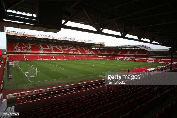 A general view before the Sky Bet Championship match between Nottingham Forest and Sunderland at City Ground on December 30 2017 in Nottingham England