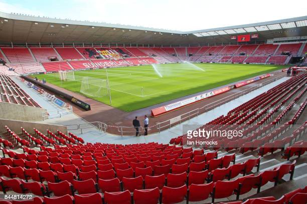 A general view before the Sky Bet Championship match between Sunderland and Sheffield United at Stadium of Light on September 9 2017 in Sunderland...
