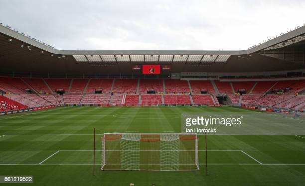 A general view before the Sky Bet Championship match between Sunderland and Queens Park Rangers at Stadium of Light on October 14 2017 in Sunderland...