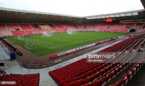 A general view before the Sky Bet Championship match between Sunderland and Bristol City at Stadium of Light on October 28 2017 in Sunderland England