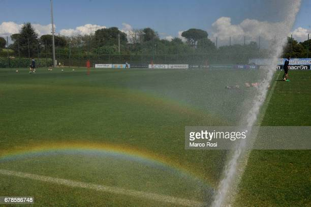 General view before the SS Lazio Training Session ot the Formello Center on May 4 2017 in Rome Italy