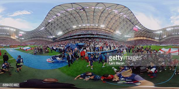 A general view before the UEFA EURO 2016 Group B match between England and Russia at Stade Velodrome on June 11 2016 in Marseille France
