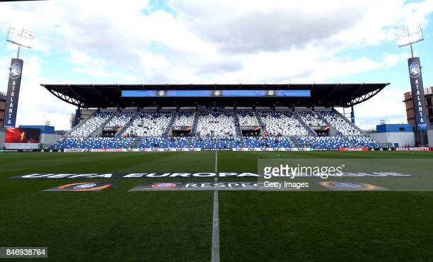 A general view before the UEFA Europa League group E match between Atalanta and Everton FC at Stadio Citta del Tricolore on September 14 2017 in...