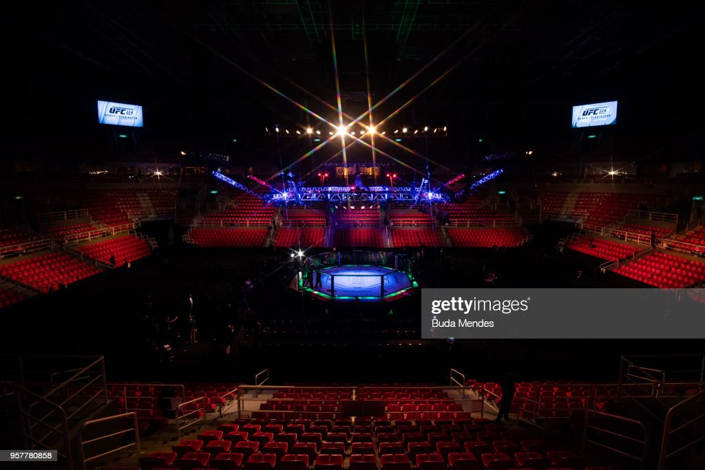 General view before the UFC 224 event at Jeunesse Arena on May 12, 2018 in Rio de Janeiro, Brazil.