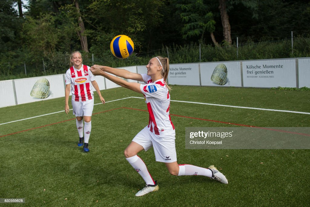 A general view behind the scenes of the Allianz Frauen Bundesliga Club Tour of 1. FC Koeln at RheinEnergie Sportpark on August 16, 2017 in Cologne, Germany.