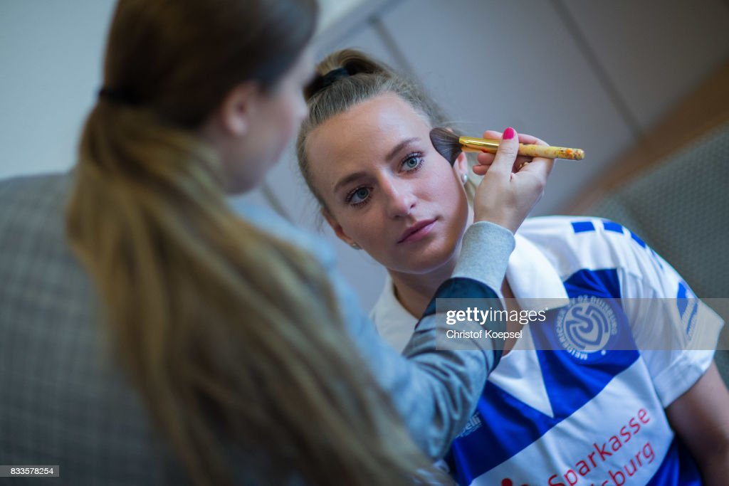 A general view behind the scenes of the Allianz Frauen Bundesliga Club Tour of MSV Duisburg at Training Ground on August 17, 2017 in Duisburg, Germany.