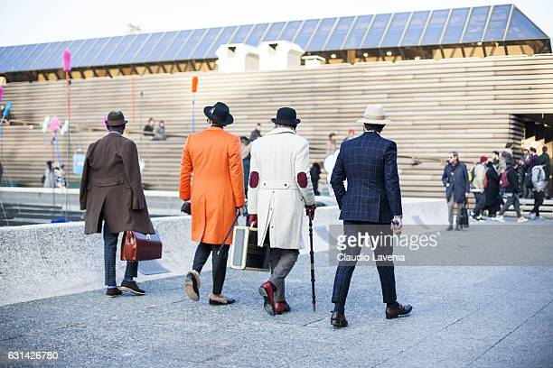 General view during 91 Pitti Immagine Uomo on January 10, 2017 in Florence, Italy.