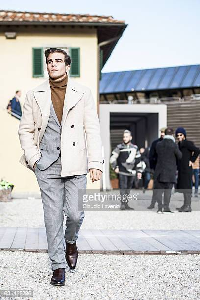 General view during 91 Pitti Immagine Uomo on January 10 2017 in Florence Italy
