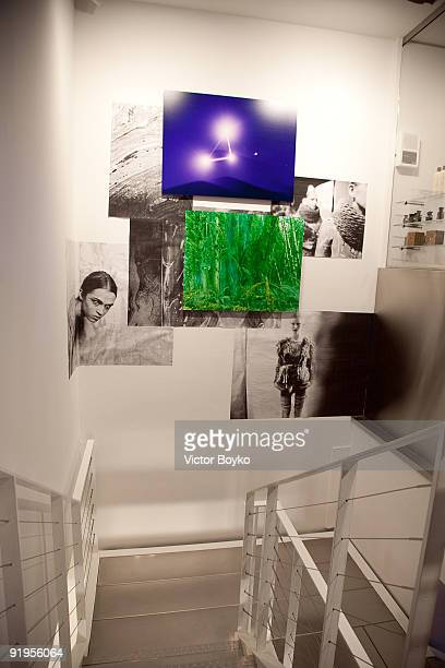 A general view during a celebration of an opening for the Rodarte shop and gallery at Colette on October 5 2009 in Paris France