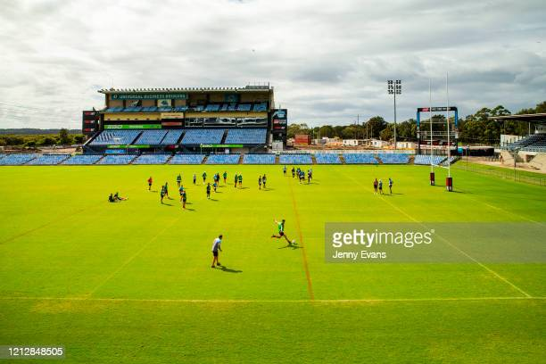 A general view during a Cronulla Sharks NRL media opportunity at PointsBet Stadium on March 17 2020 in Sydney Australia
