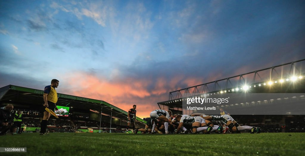 Leicester Tigers v London Irish : Nyhetsfoto