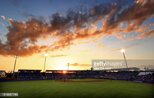 General view during a game between the Toronto Blue Jays and the Philadelphia Phillies at TD Ballpark on May 14, 2021 in Dunedin, Florida.
