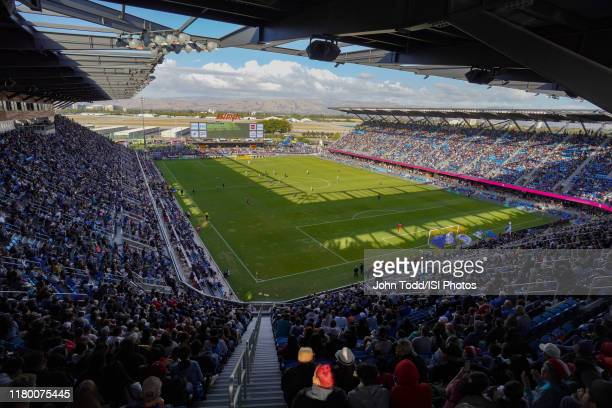 A general view during a Major League Soccer match between the San Jose Earthquakes and the Seattle Sounders on September 29 2019 at Avaya Stadium in...