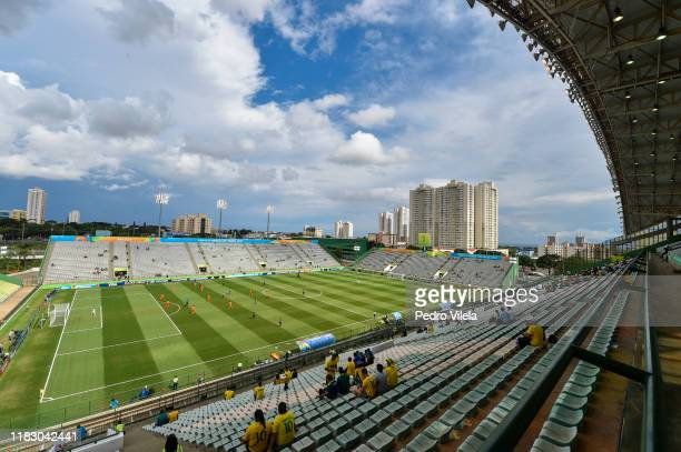 General view during a match between Netherlands and France during the FIFA U-17 Men's World Cup Brazil 2019 Third Place match Netherlands and France...