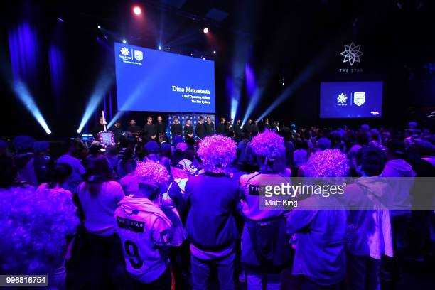 A general view during a New South Wales Blues public reception after winning the 2018 State of Origin series at The Star on July 12 2018 in Sydney...