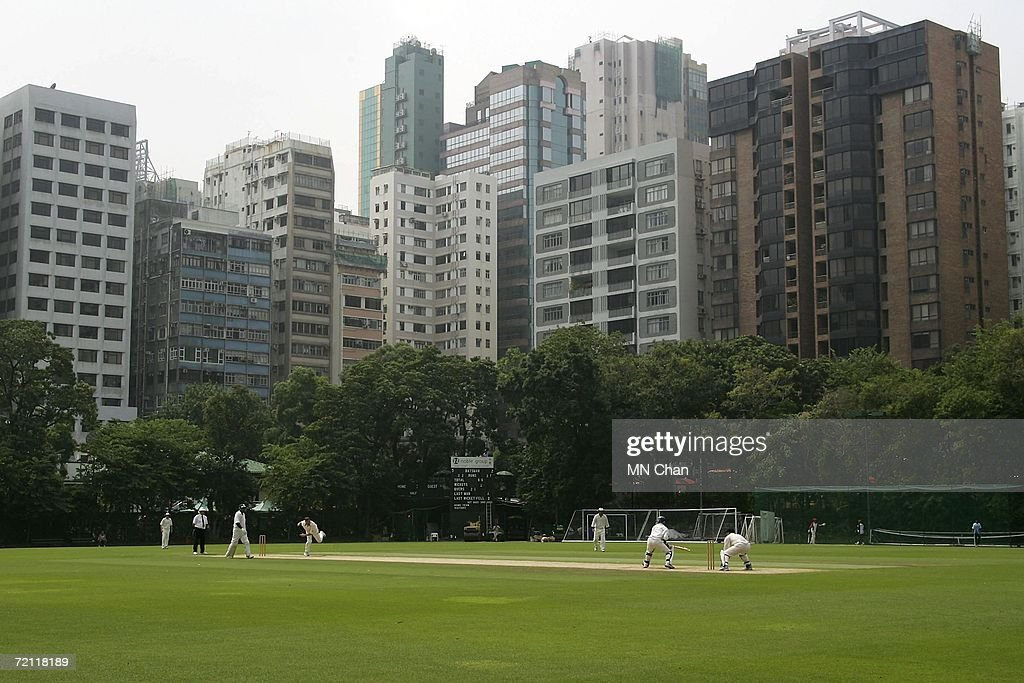 A General View During A One Day Cricket Match Between