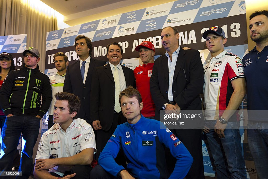 General view during a press conference to present the test for the Grand Prix of Argentina 2014 MotoGP, Moto2 and Moto3 on July 2, 2013 in Buenos Aires, Argentina.
