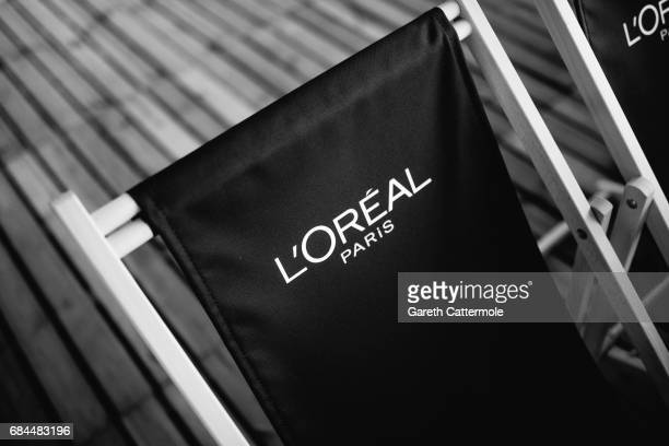 A general view during a screening at the L'Oreal Paris cinema club during the 70th annual Cannes Film Festival on May 17 2017 in Cannes France