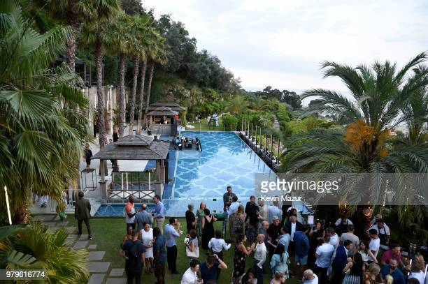 A general view during A Special Evening With Billie Joe Armstrong presented by Citi and Live Nation at Cannes Lions at Villa Alang Alang on June 20...