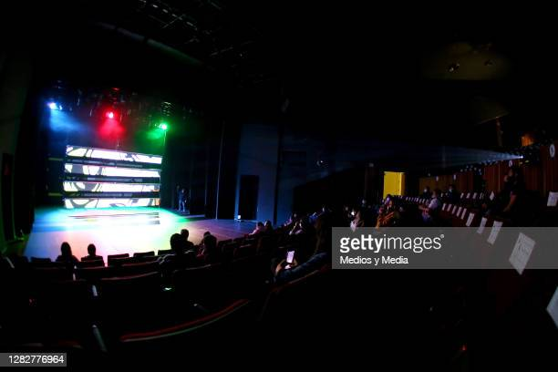 General view during a special premiere of Homo Box Machina for press and guests at Julio Castillo Theatre Hidalgo on October 28 2020 in Mexico City...