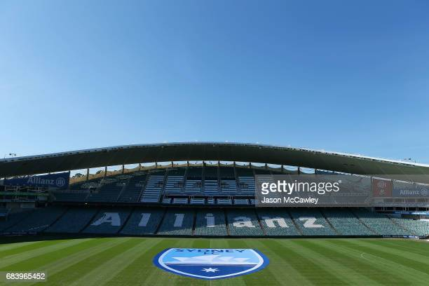 General view during a Sydney FC ALeague media opportunity announcing their new logo at Allianz Stadium on May 17 2017 in Sydney Australia