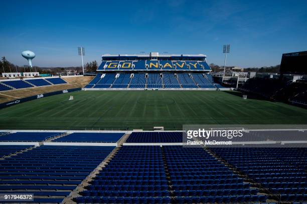 A general view during a tour of the NavyMarine Corps Memorial Stadium the site of the 2018 Coors Light NHL Sadium Series game between the Toronto...