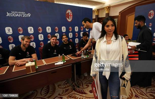 A general view during AC Milan Sponsor and Greet Events on January 13 2019 in Jeddah Saudi Arabia