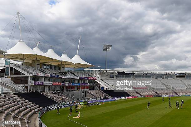 A general view during an Australia nets session at Ageas Bowl on September 2 2015 in Southampton England