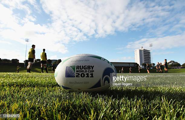 A general view during an England IRB Rugby World Cup 2011 training session at Mt Smart Stadium on September 2 2011 in Auckland New Zealand