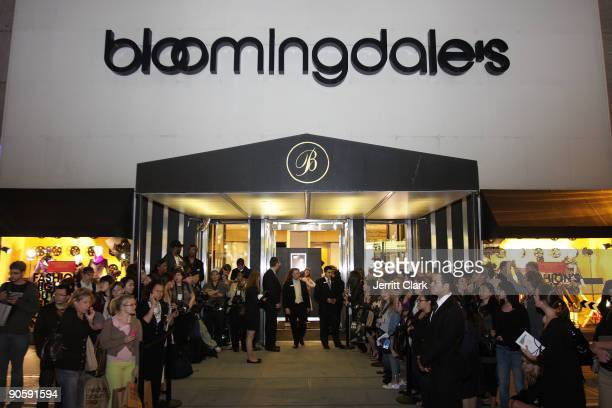 General view during Bloomingdale's celebration for Fashion's Night Out at Bloomingdale's 59th Street Store on September 10 2009 in New York City