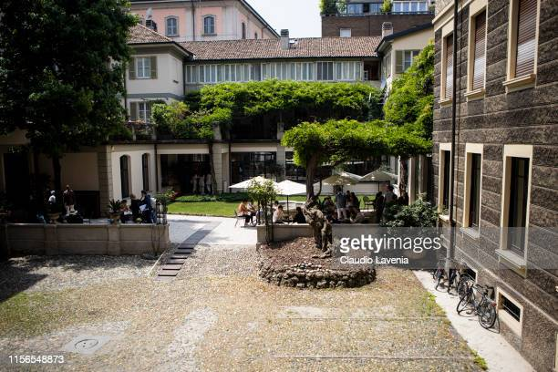 General view during Brunello Cucinelli Presentation Milan Men's Fashion Week Spring/Summer 2020 on June 15 2019 in Milan Italy