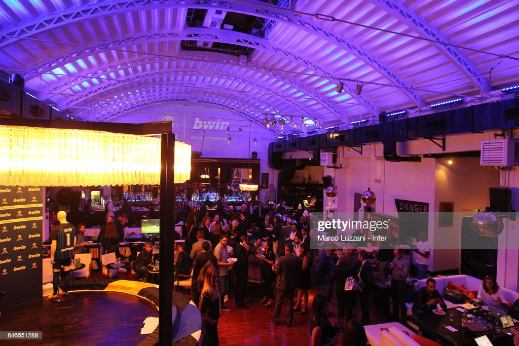 A general view during BWin event on September 13, 2017 in Milan, Italy.