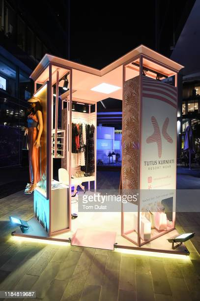 General view during Day 1 of the FFWD October Edition 2019 at the Dubai Design District on October 31 2019 in Dubai United Arab Emirates