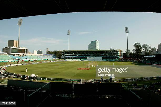 A general view during Day 2 of the 3rd Test match between South Africa and West Indies on January 11 2007 held at Sahara Stadium in Kingsmead Durban...