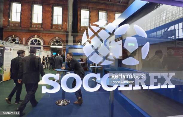 General view during day 2 of the Soccerex Global Convention at Manchester Central Convention Complex on September 5, 2017 in Manchester, England.